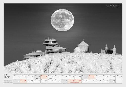 12 Karkonosze Kalendarz 2021