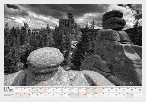 7 Karkonosze Kalendarz 2021