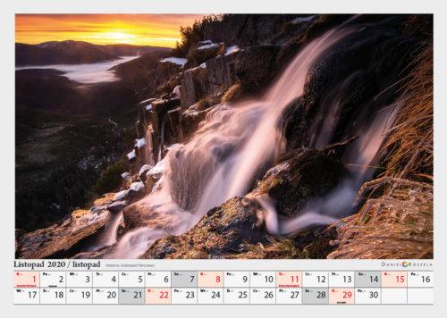 listopad kalendarz Karkonosze