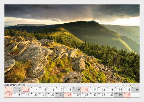 maj kalendarz Karkonosze
