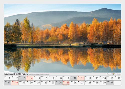 pazdziernik kalendarz Karkonosze