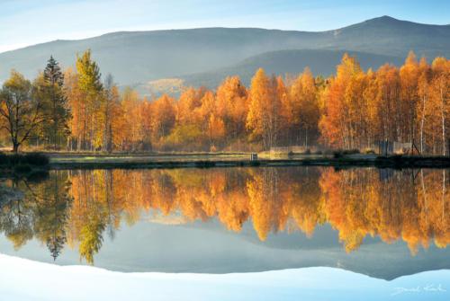 Jesień w Karkonoszach. Michałowice