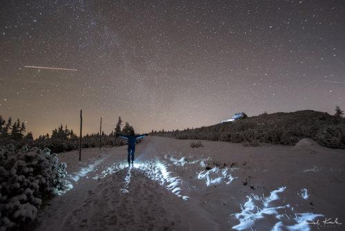 Gwiazdy nocą Szrenica