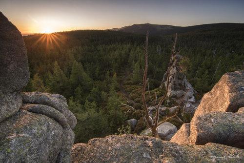 Owcze Skały wschód słońca