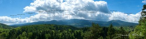 Panorama Karkonoszy opisy szczytów 2