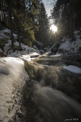 Potok Kamieńczyka 2 Zima