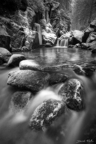 Potok Kamieńczyka zima