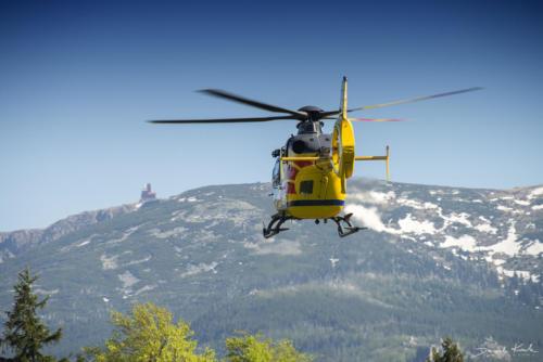 Akcja ratunkowa w górach