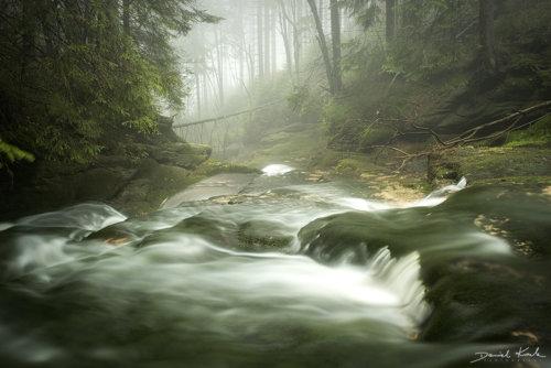 Potok Kamieńczyka kaskady