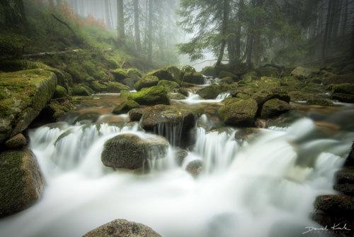 Potok Kamieńczyka kaskady 2