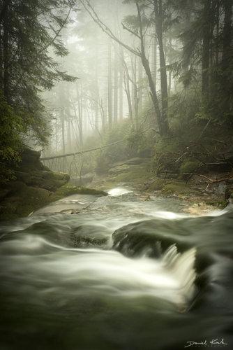 Potok Kamieńczyka kaskady 3