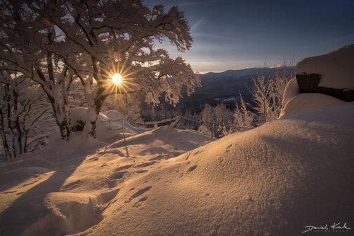 Zakręt Śmierci zima