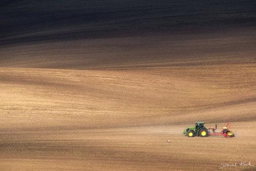 Morawy traktor 1
